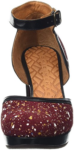 Chie Mihara Xuca - Tacones Mujer Multicolor - Multicolor (Splash Granate)