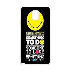DIY Smiley Case, DIY Shell Case for samsung galaxy note 4 with Smiley (Pattern-3)