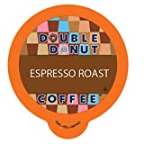 Double Donut Espresso Roast Coffee, in Recyclable Single Serve Cups for Keurig K-Cup Brewers, 80 Count For Sale