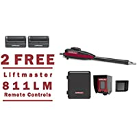Liftmaster LA400PKGU Swing Gate Opener Kit - 2 FREE Liftmaster 811LM Remotes