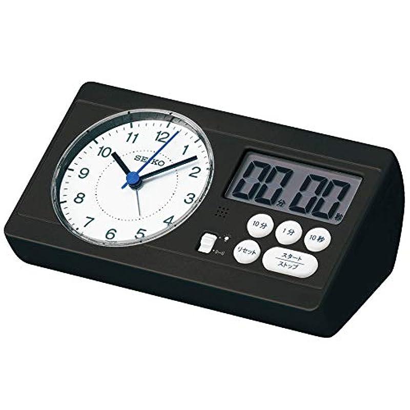 세이코 clock 탁상시계 01:백펄 본체 사이즈: 6.0×16.0×8.9cm 자명종백홉 계산 가게야마 영남 모델 스터디 타임 BC408W