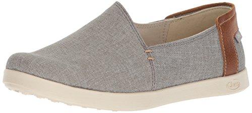 Chaco Women's Ionia Slip On Shoe, Gray, 9 M US ()