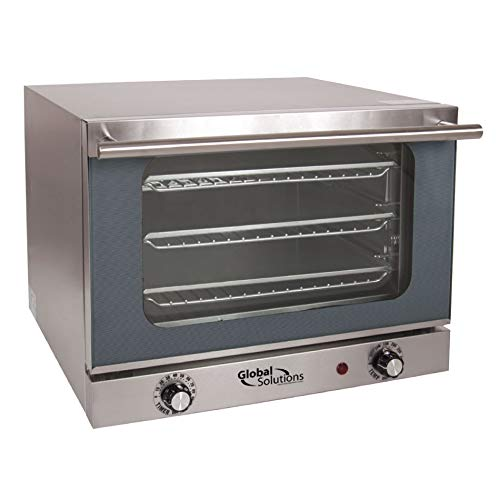 Global Solutions GS1200 Half Size Electric Convection Oven - 120v