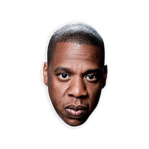 Serious Jay-Z Mask - Perfect for Halloween, Masquerade, Parties, Events, Festivals, Concerts - Jumbo Size - Halloween Jay Costume Z
