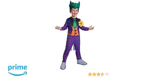 Rubies EL Joker - Disfraz para Niños - Mediano - 132cm - Edad 5/7 ...