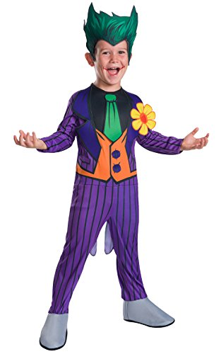 Rubie's Costume Boys DC Comics The Joker Costume, Small, Multicolor -