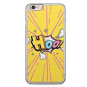 Hoo iPhone 6 Plus Transparent Edge Case - Comic Collection