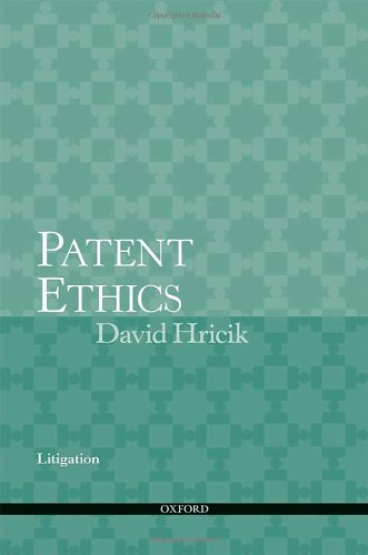 Patent Ethics Litigation by Oxford University Press