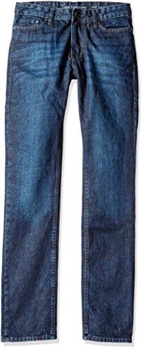 Calvin Klein Button Fly Jeans (Calvin Klein Jeans Men's Slim Straight Fit Seasonal Denim Jean, G/Force, 31x32)