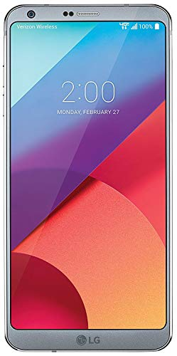 LG G6 VS988 - Ice Platinum - 32GB - Verizon (Renewed)