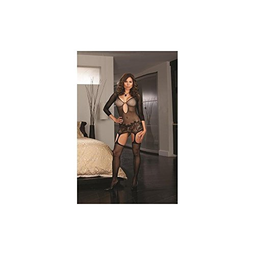 Fishnet Garter Dress Thigh Package product image