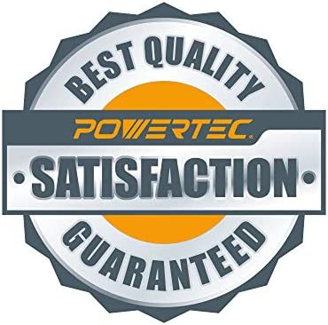 POWERTEC 70267 PVC Dust Collection Hose Flexible Clear Vue Heavy Duty PVC Hose 6 Inch x 20 Feet