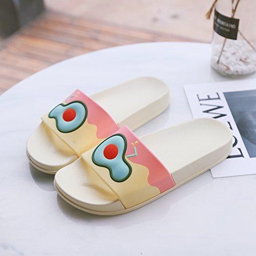 casa personalizzato pantofole e da di terreno la home donne dentro bagno sandali vasca carino fuori frutto cool coppie burro fankou e 37 home morbido Estate Iq7z00
