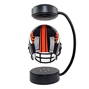 NFL Hover Helmet - Collectible Levitating Football Helmet with Electromagnetic Stand, Denver Broncos