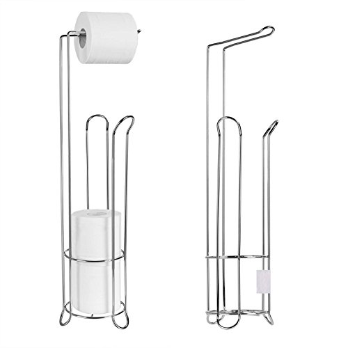 Stainless Steel Stand Rack (Silver/Gold) - 5
