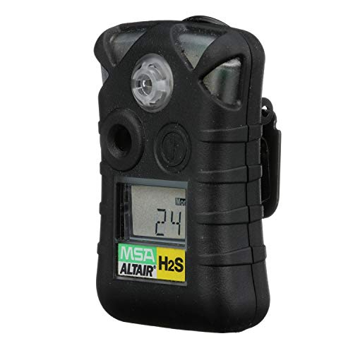 MSA 10092521 ALTAIR Single Gas Detector, Hydrogen Sulfide (H2S), Low Alarm 10 PPM, High Alarm 15 PPM: Amazon.com: Industrial & Scientific