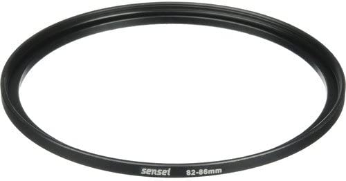 2 Pack Sensei 82mm Lens to 86mm Filter Step-Up Ring