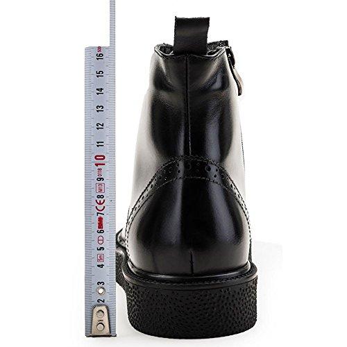 libero 's Martin 40 SYYAN Velvet stivali 1 1 cuoio Europea dei Men alta Top Versione manuale inverno tempo di TggPq6I