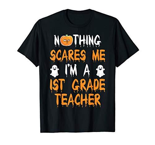 1ST GRADE TEACHER Halloween Costume Gift T-Shirt ()