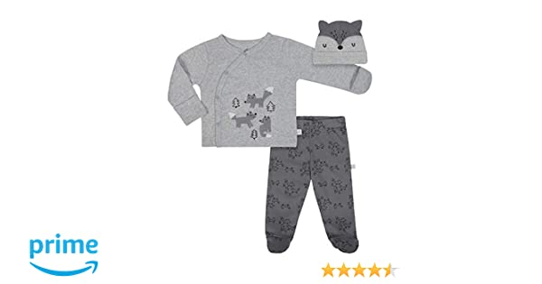 0cd6b9ce1 Amazon.com  Just Born Baby Boys  3-Piece Organic Take Me Home Outfit ...