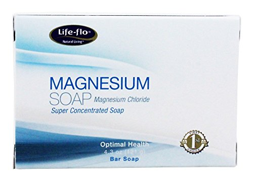 Magnesium Bar Soap Life Flo Health Products 4.3 oz Bar