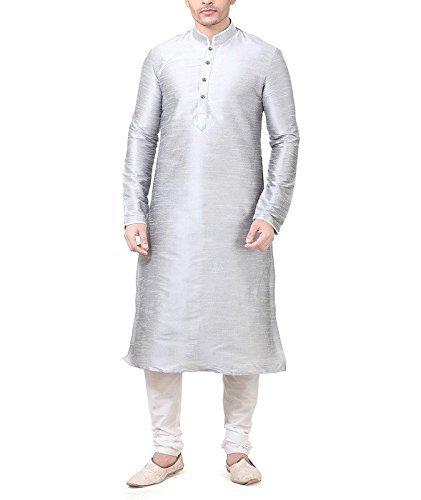 Royal Kurta Silk Blend Kurta Pyjama Set For Men (42 8e87f2b14