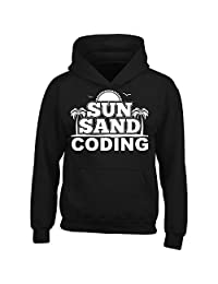 Sun Sand Coding - Adult Hoodie