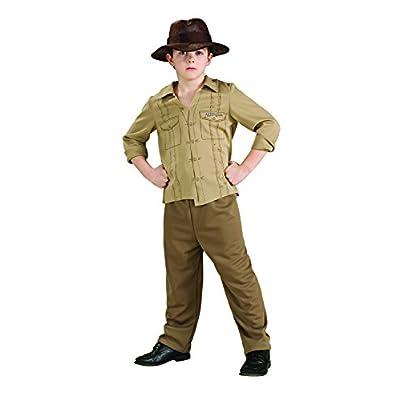 Indiana Jones Child's Costume, Medium: Toys & Games