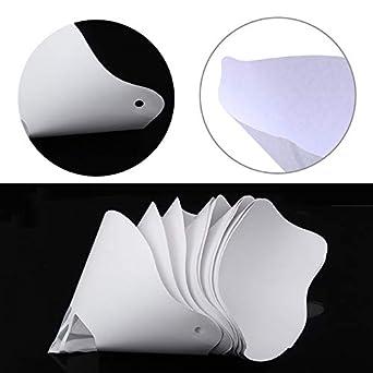 Amazon.com: Filtro de papel de resina gruesa desechable para ...