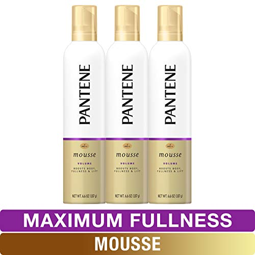 (Pantene Body Boosting Mousse, Pro-V Maximum Fullness, 6.6 fl oz, Triple)