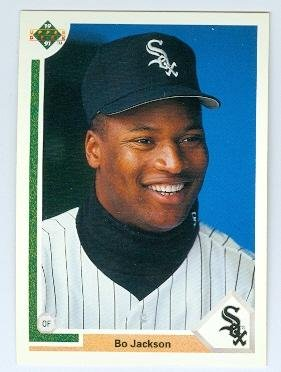 Bo Jackson Baseball Card Chicago White Sox Bo Knows 1991