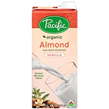 Pacific Natural Foods Pacific organic almond vanilla beverage,