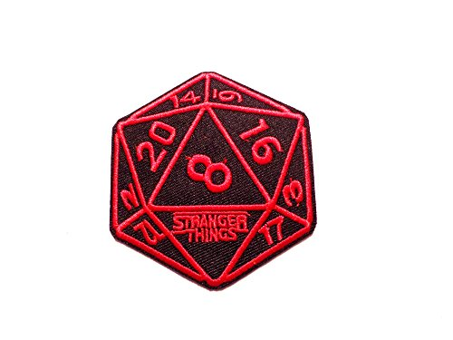 Sweet Jane Collection (Stranger Things TV Logo Embroidered Iron on Patch By Superheroes Brand)