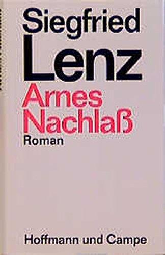 Arnes Nachlass: Roman