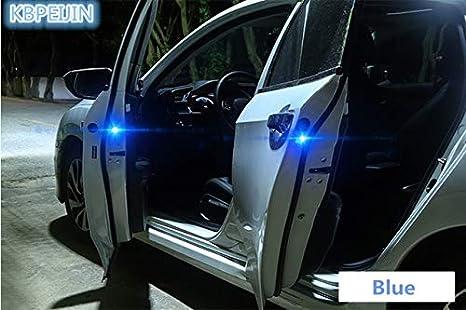 2PCS Wireless Car Door Safety Flicker Warning Light Sticker