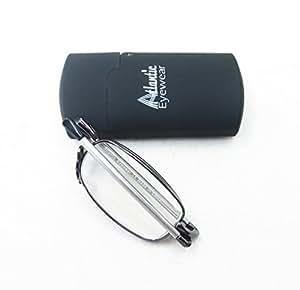 Atlantic Eyewear AE0037 Gafas de Lectura plegables con estuche duro (+1.00)