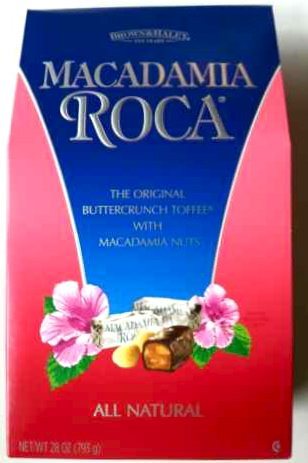Macadamia Roca Buttercrunch Toffee 28 Oz. (793g) Box