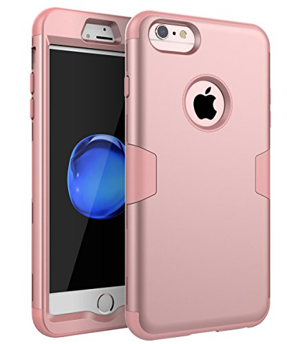 iPhone 6 Case, iPhone 6s Case, TOPSKY Three Layer Heavy Duty High Impact Resistant Hybrid Protective Cover Case for iPhone 6 and iPhone 6S (Only for 4.7