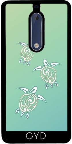Funda de silicona para Nokia 5 - Tortugas Marinas Verdes by Nina Baydur