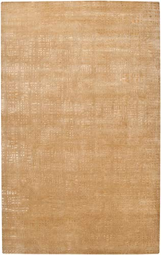 Julie Cohn by Surya Shibui SH-7422 Contemporary Hand Knotted 100% Semi-Worsted New Zealand Wool Tan 4' x 6' Area - Rug Hand Shibui Knotted