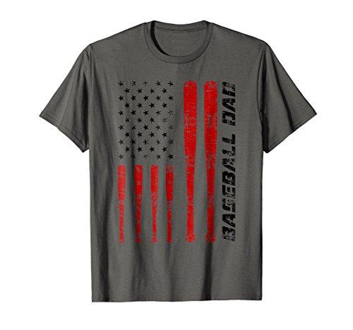 Baseball Dad Shirt   Cute Softball Fan Father Day Shirt Gift
