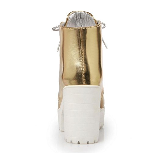 XIAOGANG plata H oro frontal mujeres caucho desgaste cinturón Golden ayuda HCuatro impermeable temporadas alta talón 39 gruesa de de antideslizante mesa rr0Xx