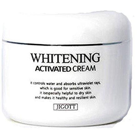 Whitening Activated 100g Lightening Cream Moistur / JIGOTT