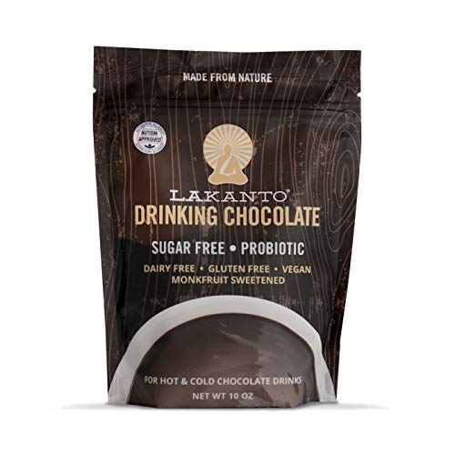 Lakanto, Drinking Powder Chocolate Monkfruit, 10 Ounce