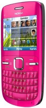 Nokia C3-00 - Teléfono móvil (GSM, Bluetooth), color rosa: Amazon.es: Electrónica
