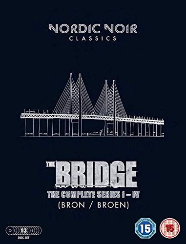 The Bridge: Season 1-4 [UK import, region 2 PAL format]