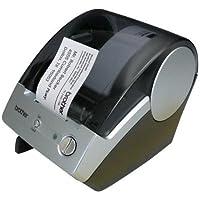 Brother Label Printers,300x300 dpi,5-7/10x6x7-7/10,Blue/Gray (QL500)