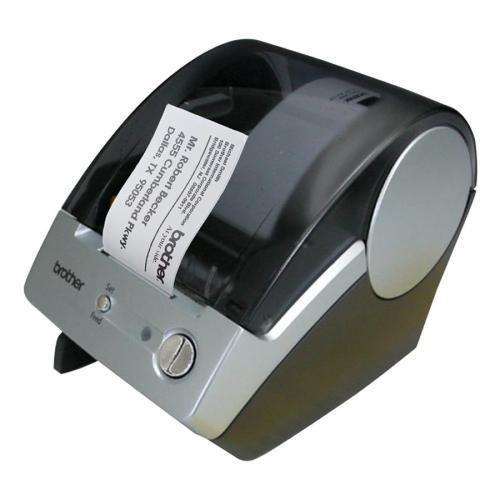 Brother Label Printers,300×300 dpi,5-7/10″x6″x7-7/10″,Blue/Gray (QL500)