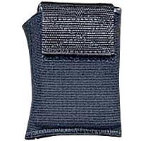 DeSantis - portafolios elástica para Tobillo ambidiestro, Color Negro