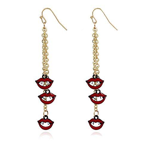 Women Jewelry Dangle Earrings Boucle Pumpkin Pattern Pendant Halloween Feminino Earring Orange for $<!--$31.49-->